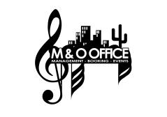 M & O Office Logo blanc